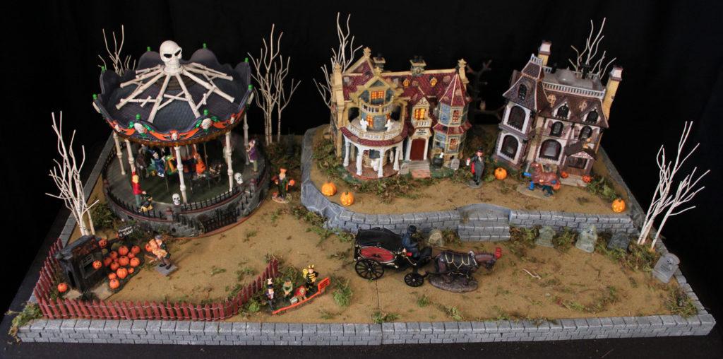 Halloween Village Display Platform